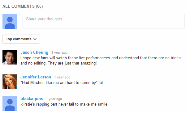 how to delete a comment of youtube