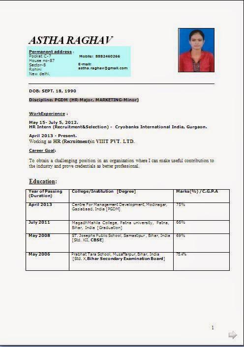 biodata doc