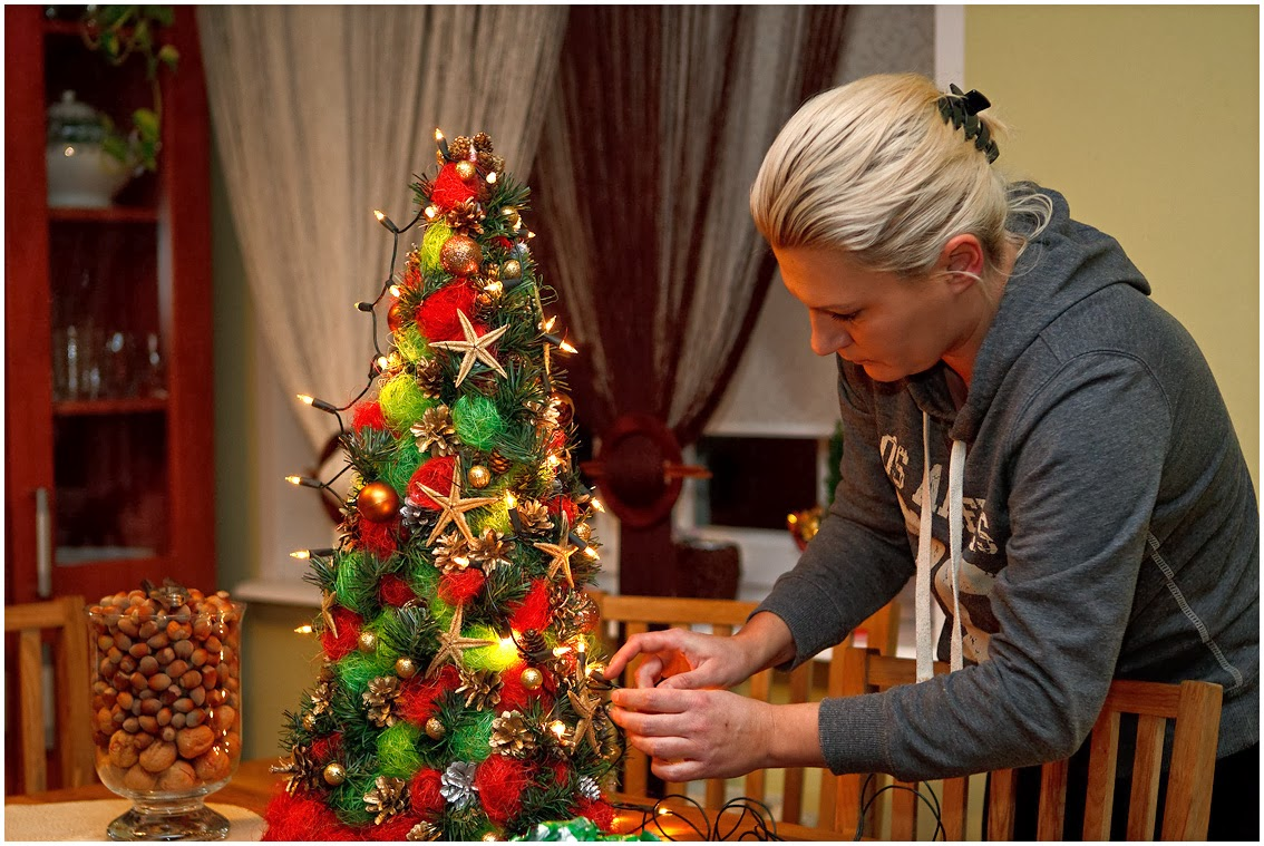 Большая новогодняя елка своими руками мастер классы