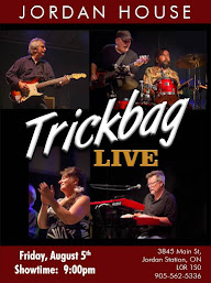 Niagara! Rock Out to Hamilton Blues Legends Trickbag at Jordan House on Aug 5th
