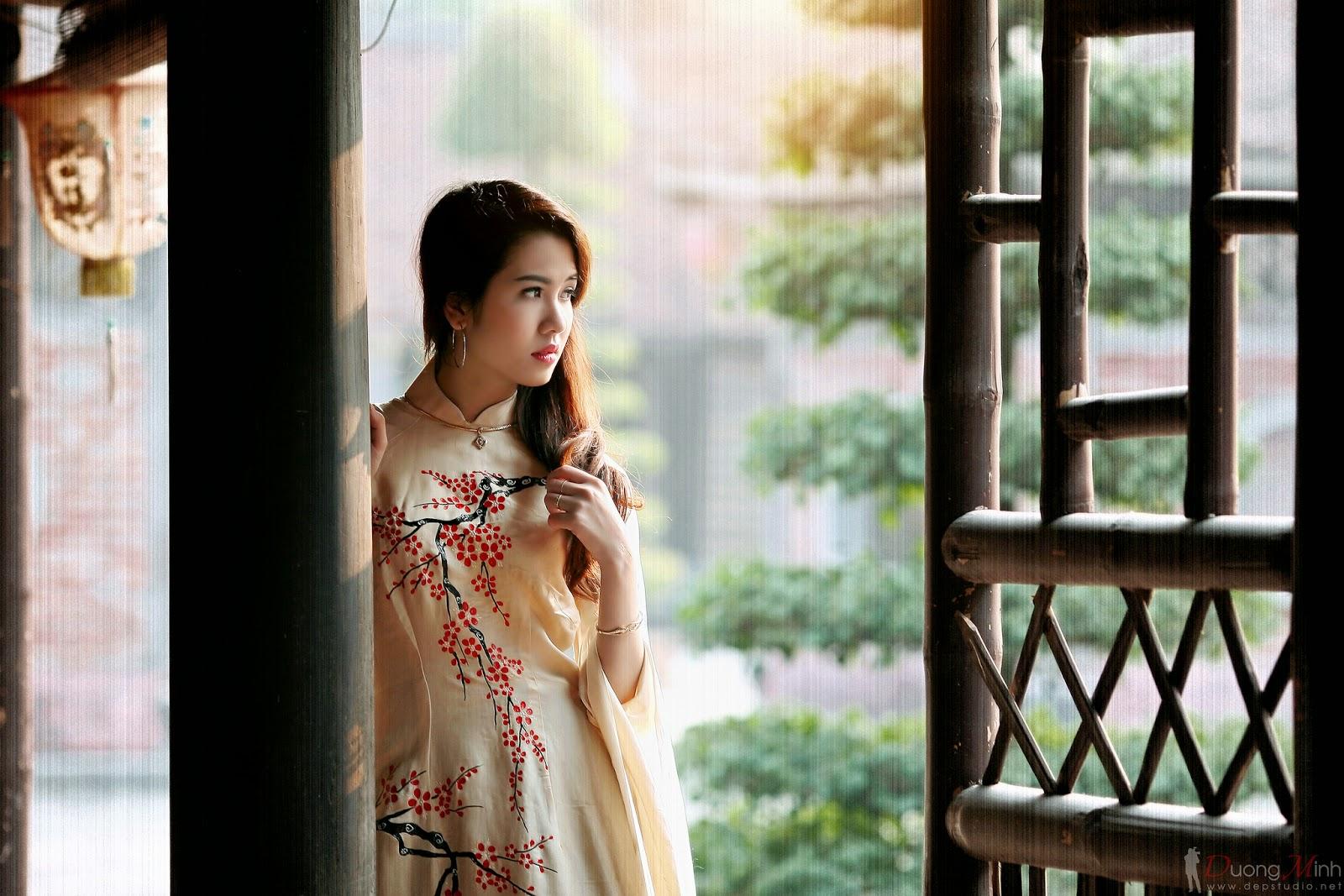 Ảnh đẹp girl xinh Áo dài truyền thống Việt Nam - Ảnh 28