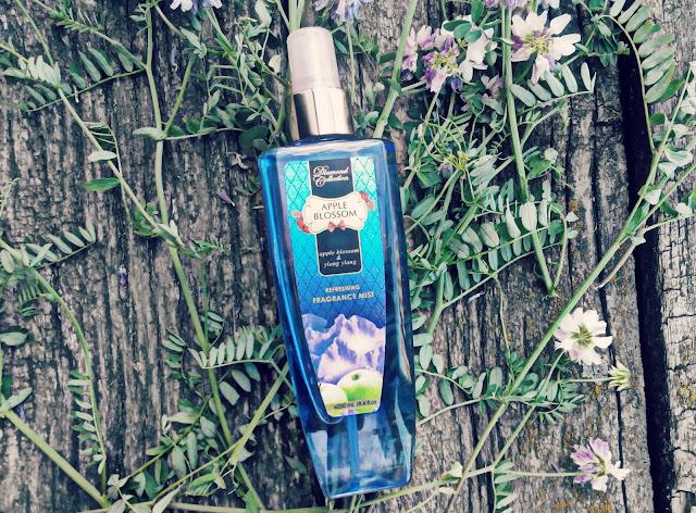 Освежающий парфюмированный спрей для тела
