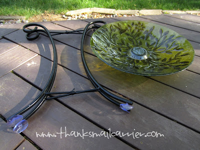 Plow & Hearth birdbath