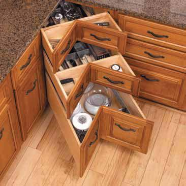 Kitchen Base Cabinet Drawers