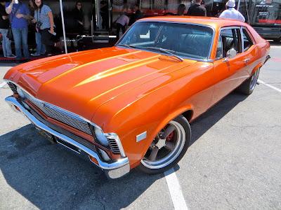 Chevy Nova '68 naranja