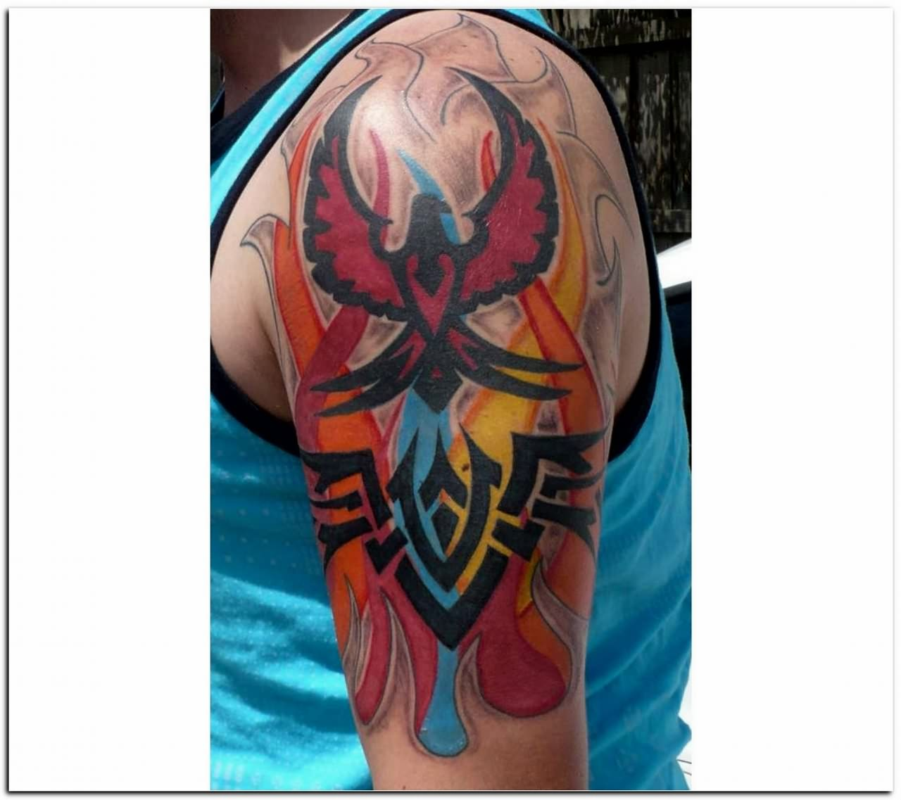 Fire And Flame Tattoo For Menjpg