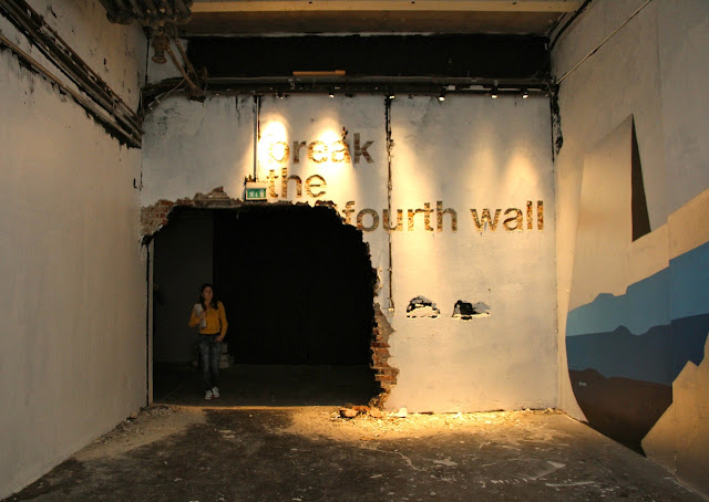 Indoor Murals and Installations By David Choe, Martin Whatson, DALeast, Ernest Zacharevic, M-City... For Nuart 2013.