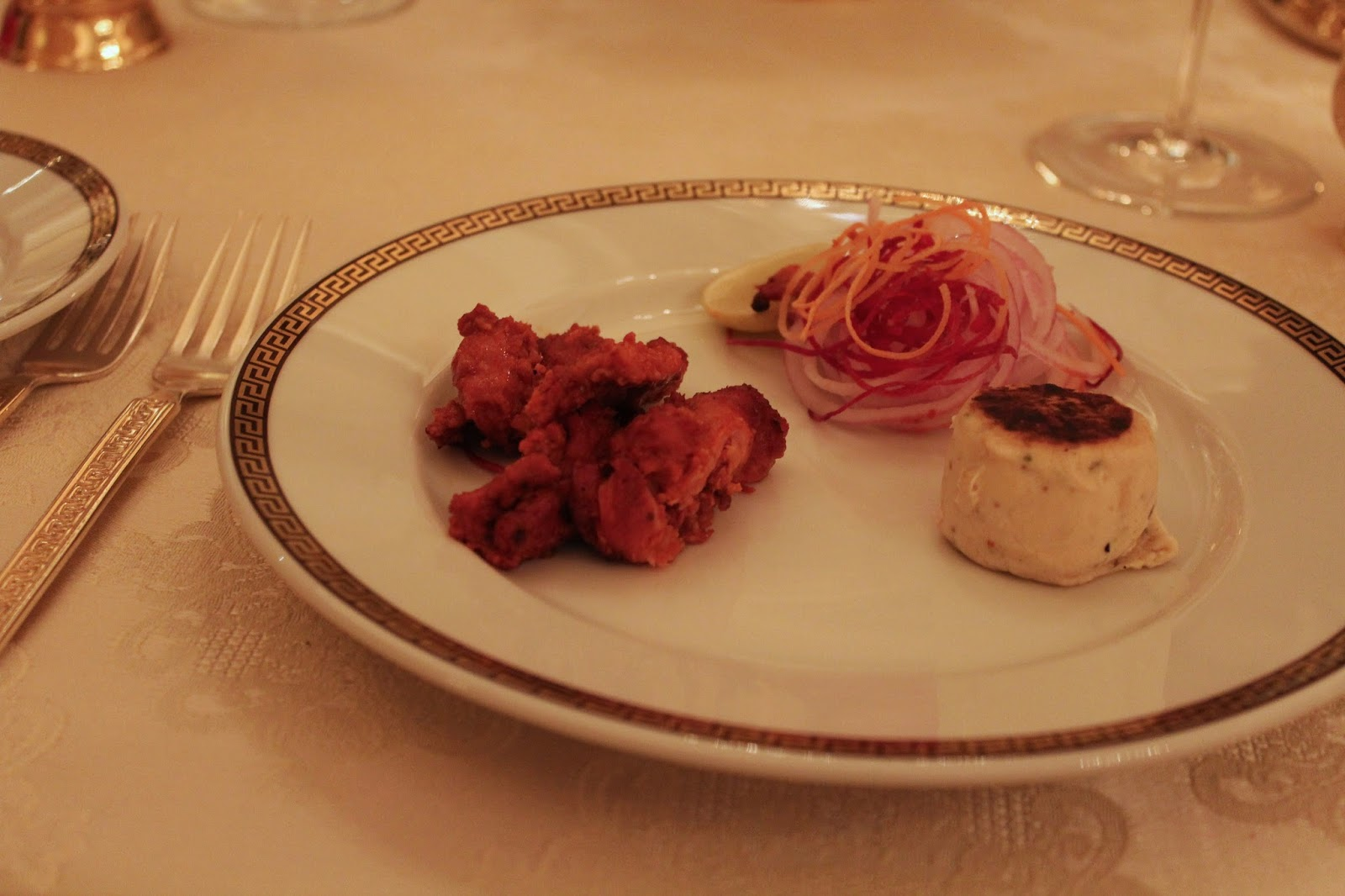 Dining at Suvarna Mahal, Rambagh Palace Jaipur