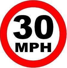 30 mph Road Sign