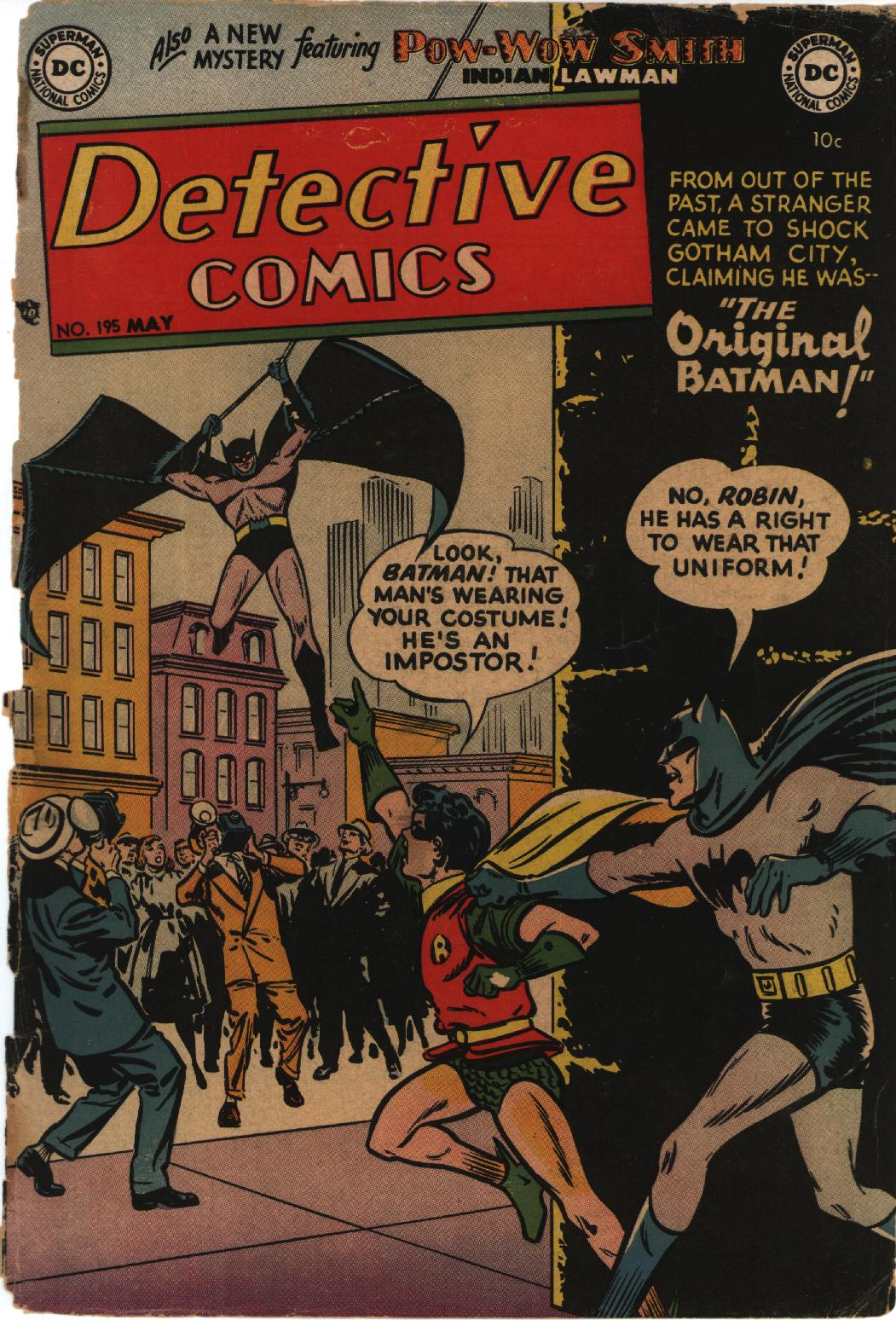 Detective Comics (1937) 195 Page 1