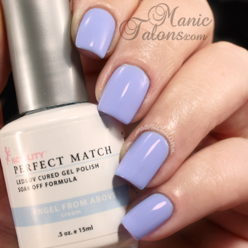 LeChat Perfect Match Gel Polish Swatch Angel from Above