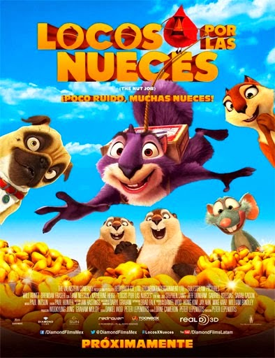 Locos por las nueces (The Nut Job) (2014) [Latino]