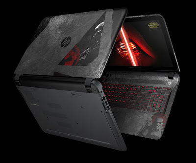 HP unveils StarWars Special Edition Notebook in India for Rs. 73000