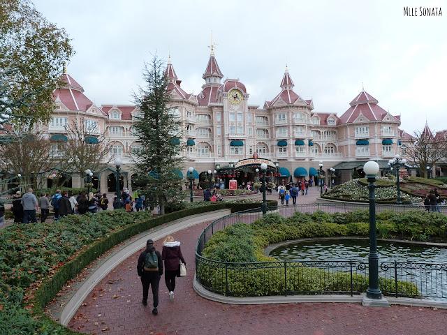 Entrée de Disneyland Paris