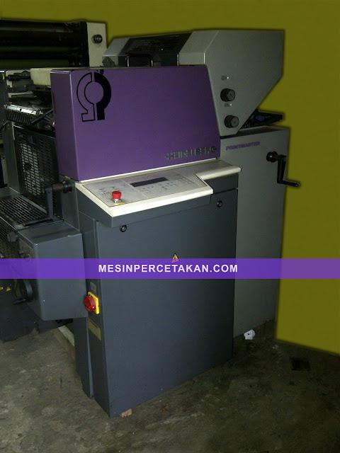 Heidelberg Quickmaster QM 46 2 Color (Printmaster)