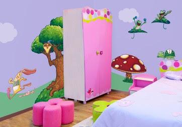 decorar dormitorio infantil con pegatinas