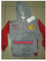 jaket anak double sleting
