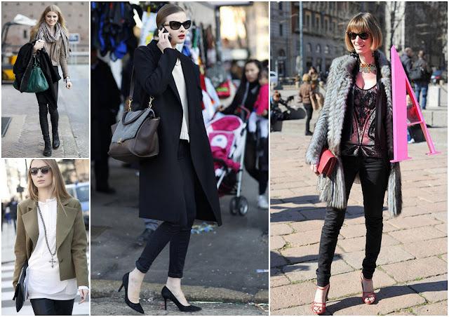 Moda File Milan Fashion Week 2012 Street Style