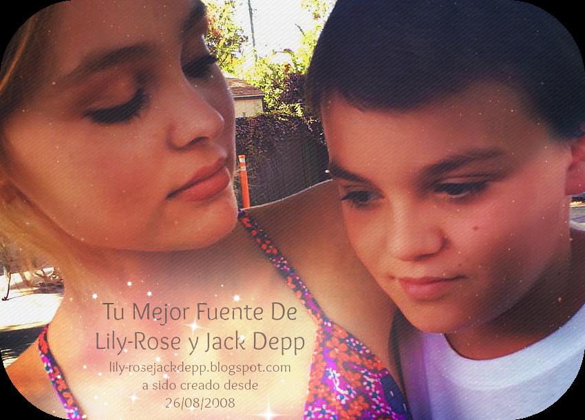 Lily-Rose Depp and Jack Depp