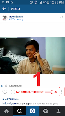 cara download video dari instagram