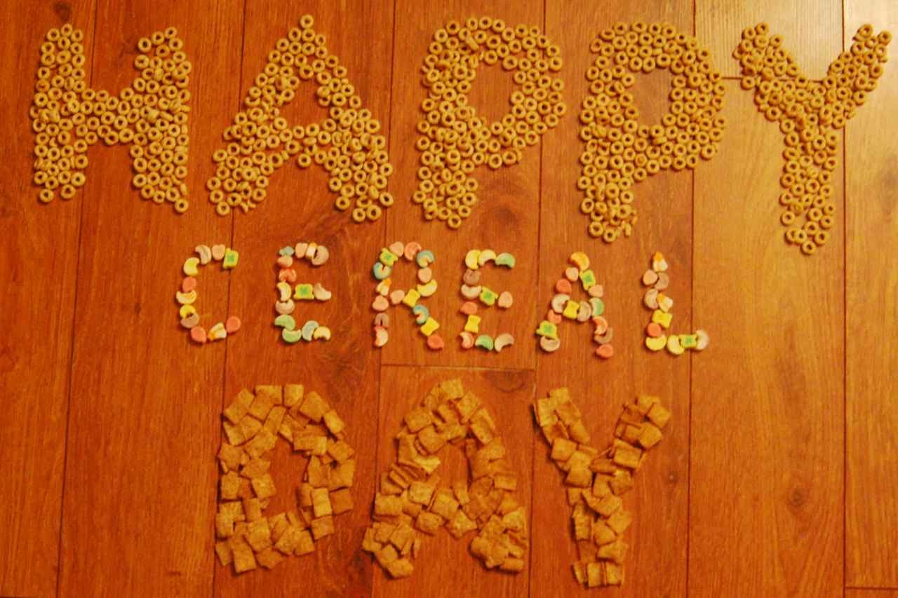 Happy National Cereal Day