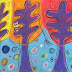 Sandra Silberzweig Inspired Trees