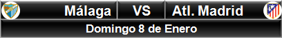 Málaga vs Atlético Madrid