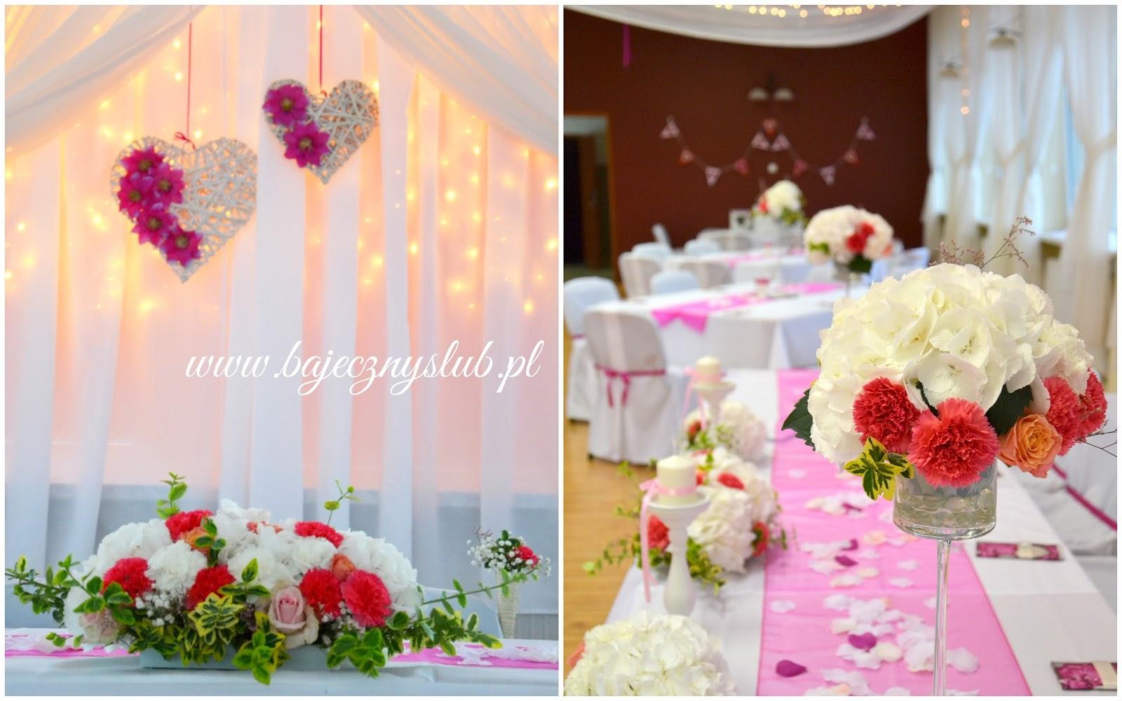 Bajeczny ślub świdnica Dekoracje Sal Weselnych świdnica Sala