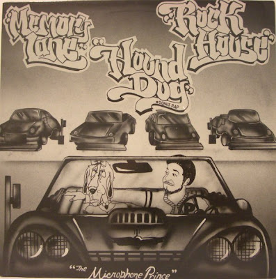 Microphone Prince ‎– Rock House / Memory Lane / Hound Dog (1987, VLS, 256)