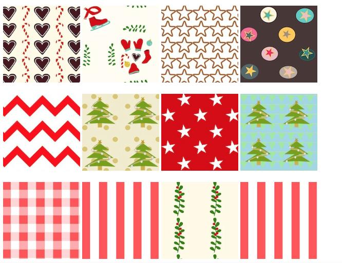 Free digital holiday pattern paper: collection 2 - ausdruckbare ...
