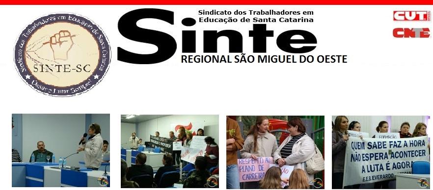 SINTE REGIONAL SÃO MIGUEL DO OESTE