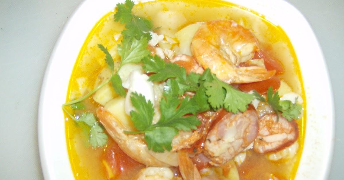 Anecdotes de cuisine soupe portugaise au poisson et chorizo - Cuisine soupe de poisson ...