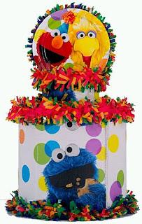 Piñatas Elmo para Fiestas Infantiles