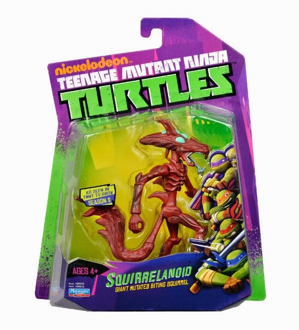 JUGUETES - LAS TORTUGAS NINJA : Ninja Turtles  Figura Squirrelanoid | Muñeco  Producto Oficial | 90542 | A partir de 4 años