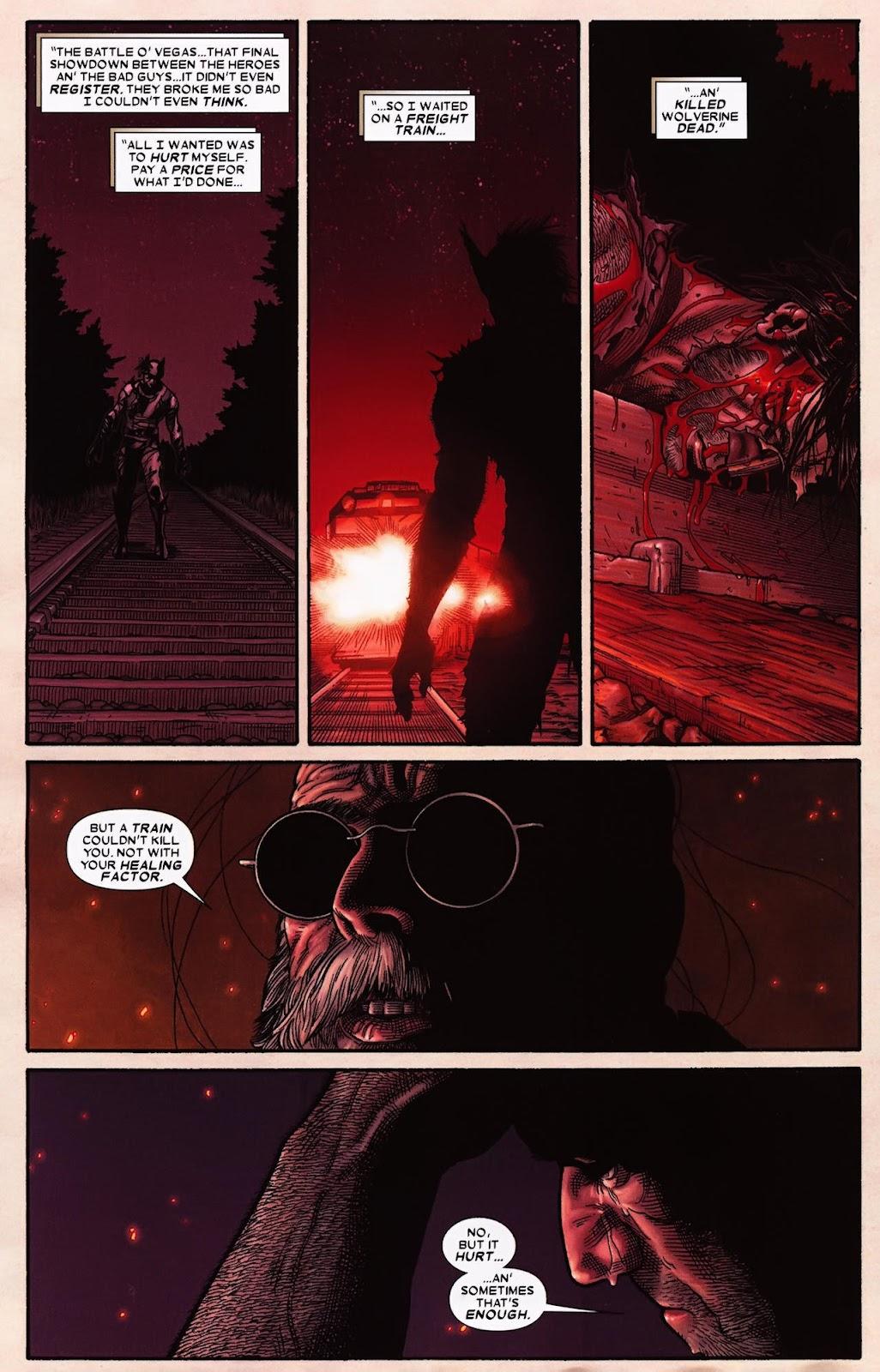 Read online Wolverine (2003) comic -  Issue #70 - 18
