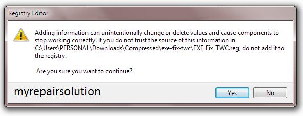 cara mengembalikan file .exe