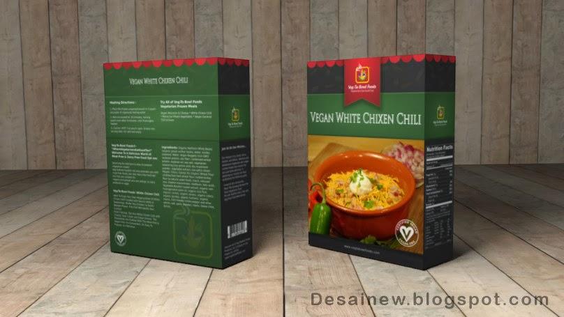 Membuat desain kotak kemasan 3D di Inkscape dan Blender atau Create 3D Packaging Box Design