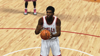 NBA 2K13 Jimmy Butler Cyberface Patch