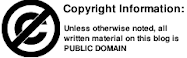anti-copyright notice: ownership of thoughts rejected