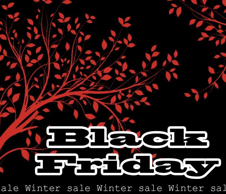 Missa inte Black Friday 24.11!