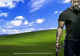 Dwayne Johnson Desktop Wallpapers The Rock Faster Action Movie in Beautiful Countryside Landscape Background