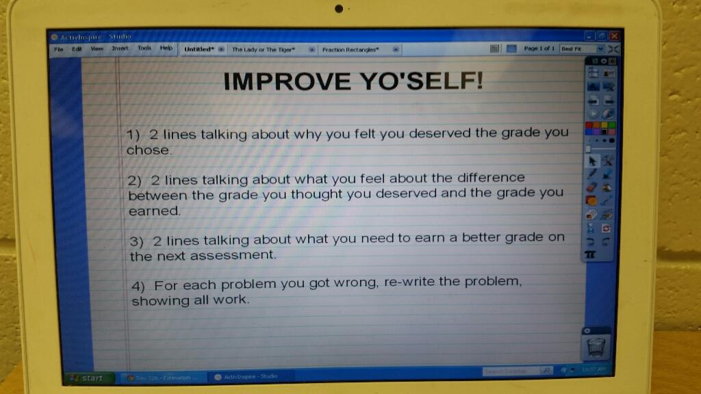 essay on what grade i deserve