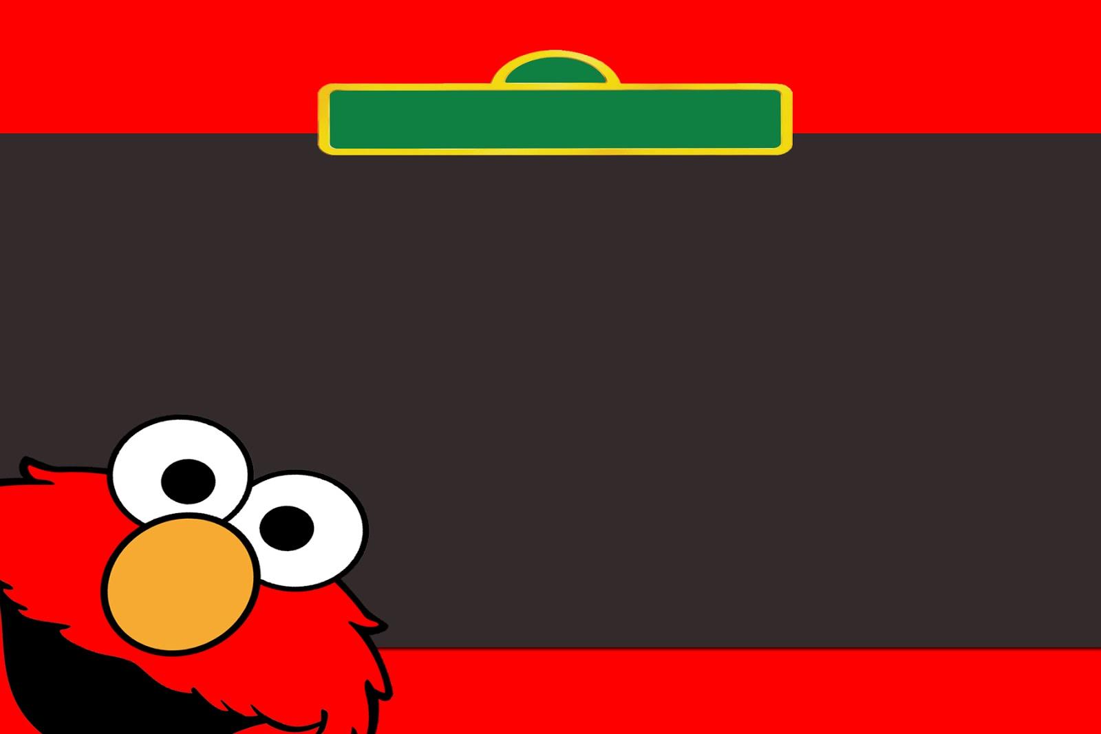Moms Kiddie Party Link: Freebie: Sesame Street, Elmo and ...