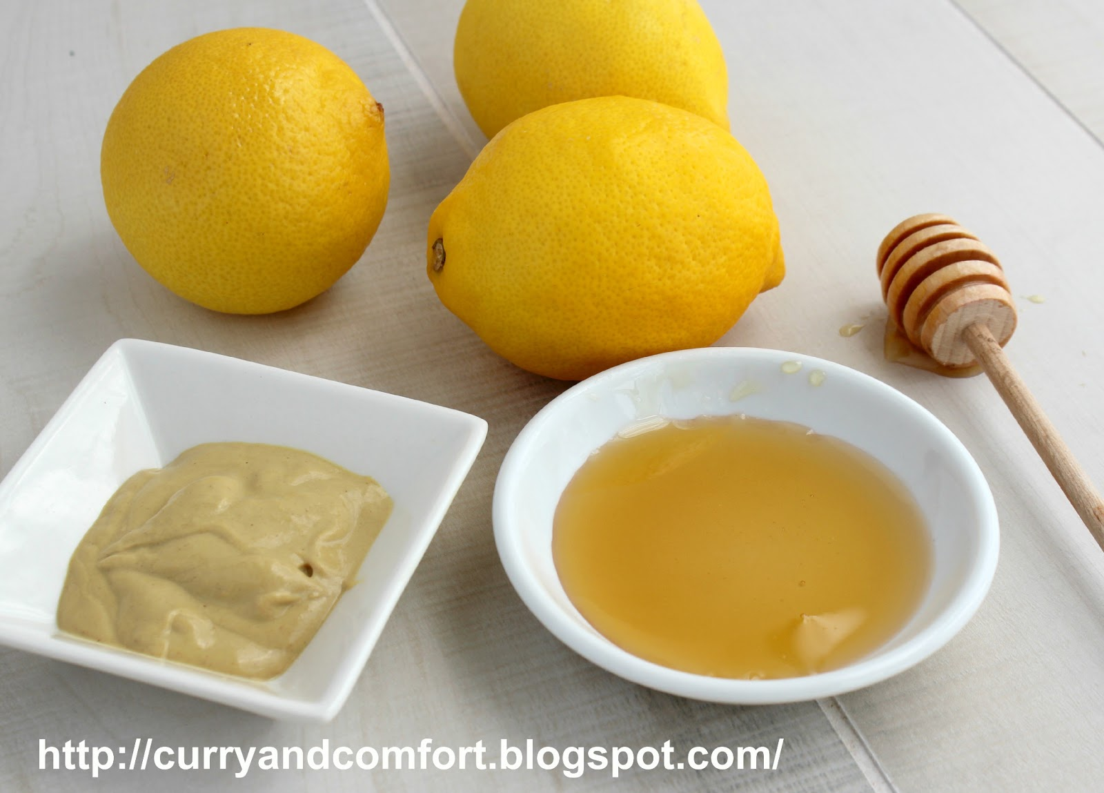Curry and Comfort: Lemon Honey Mustard Salad Dressing