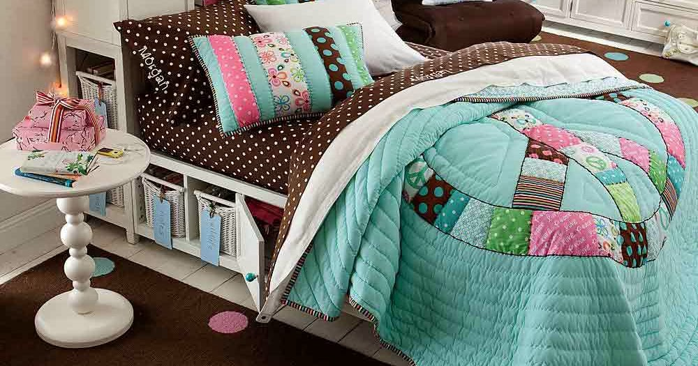 Teenage girl bedroom ideas wall colorful for Colorful teenage girl bedroom ideas