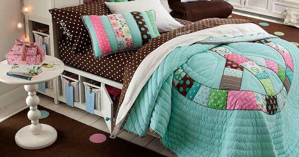 Teenage girl bedroom ideas wall colorful - Colorful teenage girl bedroom ideas ...