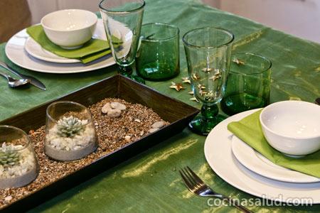 Decoraci n del hogar y negocios decoracion de mesas en for Decoracion hogar verde