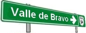 Hacia Valle de Bravo