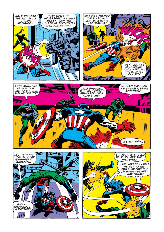 Captain America (1968) Issue #148 #62 - English 17