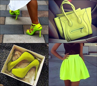 Neon Colors - Trend For Spring 2013